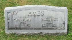 Cordelia Ann <i>York</i> Ames