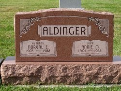 Annie Mae <i>Rohrbaugh</i> Aldinger
