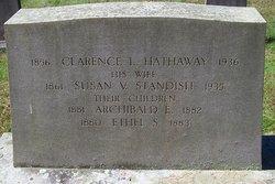 Susan V <i>Standish</i> Hathaway