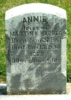Annie Hacker