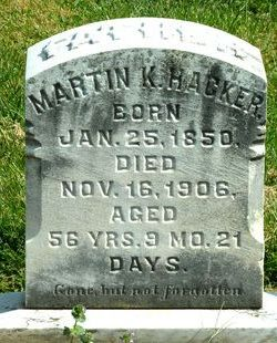Martin K Hacker