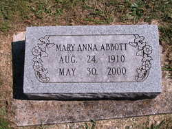 Mary Anna Abbott