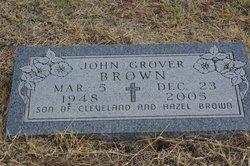 John Grover Brown