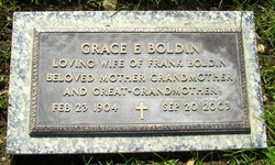 Grace E <i>Adkins</i> Boldin