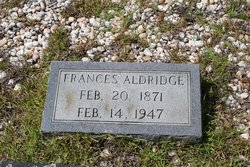 Frances Jane <i>Davis</i> Aldridge