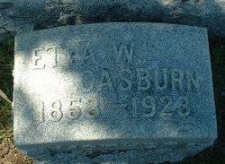 Etta V. <i>Weed</i> Casburn