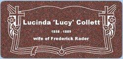 Lucinda Lucy <i>Collett</i> Rader