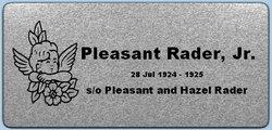 Pleasant Rader, Jr