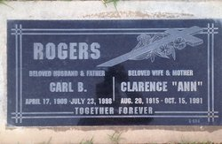 Clarence Ann <i>Adams</i> Rogers