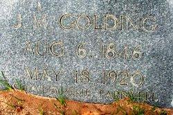 John Madison Golding, Jr