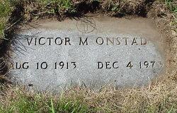 Victor M Onstad