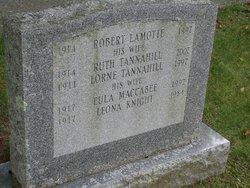 Ruth Irene <i>Tannahill</i> Lamotte
