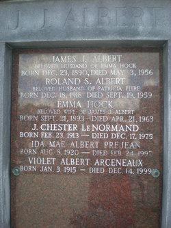 Emma <i>Hock</i> Albert