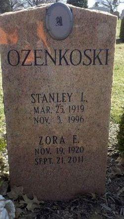 Zora Elizabeth <i>Schneeberg</i> Ozenkoski