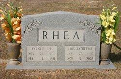 Earnest Lee Rhea