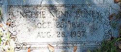 Nettie <i>Nunn</i> Boney