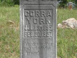 Corra P. <i>Jones</i> York