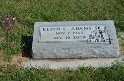 Keith L Adams, Sr