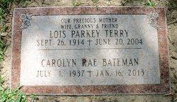 Carolyn <i>Parkey</i> Bateman