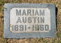 Mariam Austin Covington
