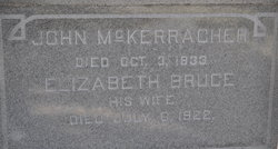 Elizabeth <i>Bruce</i> McKerracher