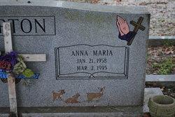 Anna Marie <i>Sauls</i> Barton