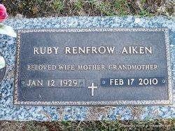 Ruby <i>Renfrow</i> Aiken