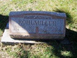 Harriet Marie Hattie <i>Lincoln</i> Kohlmiller