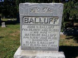 Clara C Balluff