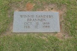 Winnie <i>Sanders</i> Brannen