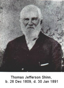 Thomas Jefferson Shinn, Sr