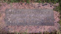 Martha Jane <i>Russell</i> Sandridge