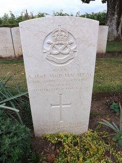 Major Alexander Macaulay