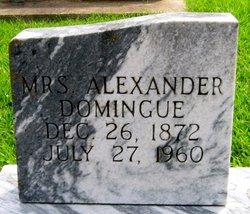 Marie Adonatilde (Mrs. Alexander) Donatile <i>Trahan</i> Domingue
