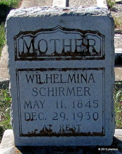 Wilhelmina <i>Ottlieb</i> Schirmer