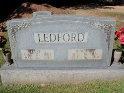 Minnie Lee <i>Matheson</i> Ledford