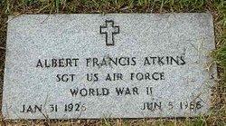 Sgt Albert Francis Atkins