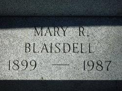 Mary R <i>Putney</i> Blaisdell