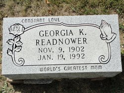 Georgia Kathryn <i>Dunn</i> Readnower