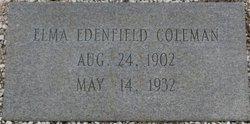 Elma <i>Edenfield</i> Coleman