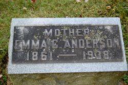 Emma Christina <i>Sederberg</i> Anderson