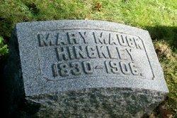 Mary <i>Mauck</i> Hinckley