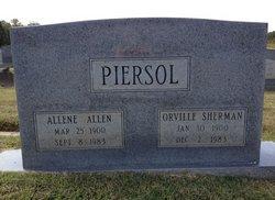 Allene Mettie <i>Allen</i> Piersol