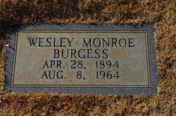 Wesley Monroe Burgess