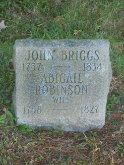 Abigail <i>Robinson</i> Briggs
