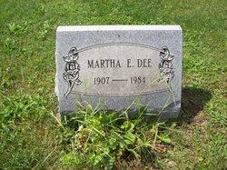 Martha E. <i>Shoup</i> Dee