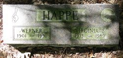 Virginia Josephine <i>Smith</i> Happe