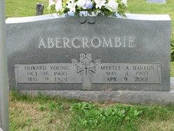 Myrtle Mae <i>Howell</i> Abercrombie Barton