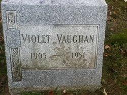 Violet P. <i>Timlick</i> Vaughan