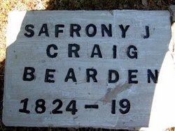 Safrona Jane <i>Craig</i> Bearden